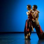 Polski Teatr Tańca. Tango z Lady M. - tańczą Agnieszka Fertała i Daniel Stryjecki