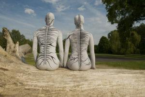 """Human being 2 - """"Kim jest istota ludzka?"""" - jako tancerze wystąpili  Agnieszka Fertała i Marcin Motyl"""
