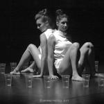"""""""Nienasycenie """" - chor. Paweł Matyasik, tańczą: Gosia Mielech i Zofia Jakubiec [listopad 2011]"""